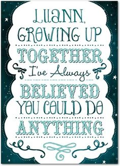 Believe Anything - Mother's Day Greeting Cards - Magnolia Press - Wave - Blue : Front