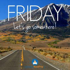 Es ist FREITAG!!!! Lasst uns irgendwohin fahren!! Wohin möchtest du gerade am allerliebsten???  http://a-tasty-hike.de