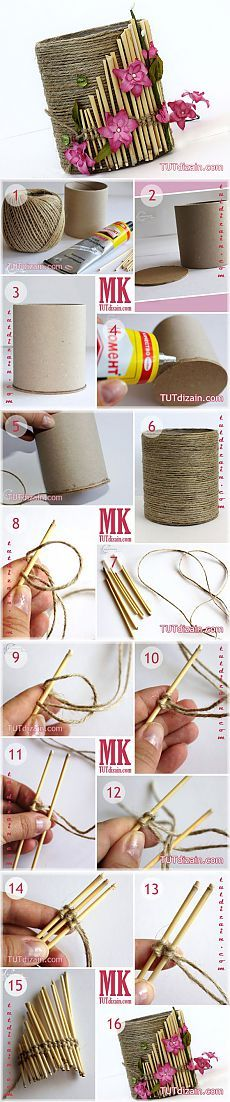 23 Clever DIY Christmas Decoration Ideas By Crafty Panda Hobbies And Crafts, Diy And Crafts, Crafts For Kids, Arts And Crafts, Art N Craft, Diy Art, Jute Crafts, Paper Crafts, Craft Projects