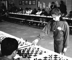 Simultaneous chess exhibit v. Judit Polgár, 1992 - 22 by Ed Yourdon, via Flickr