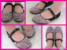 DIY Cupcake Candy Shoes