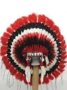 CHOCTAW INDIAN HEADDRESS WAR BONNET