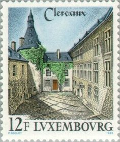 Sello: Clervaux (Luxemburgo) (Tourism) Mi:LU 1230,Yt:LU 1180