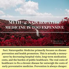 Tidbit Thursday: Today is Day#4 of our myth-busting beliefs around #NaturopathicMedicine. In Canada, we have a supportive public healthcare system, however, in most cases, we truly do not see the actual or real costs of that healthcare. Imagine if at the end of each year, you received an itemized statement of all your healthcare costs through the year - costs for each doctor's visit and exam, costs for labs and tests that your doctor orders, the time that it took for the lab technician to…