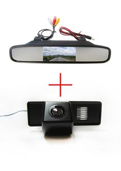 Color CCD Chip Car Rear View Camera for Mercedes Benz Vito / Mercedes Benz Viano +  4.3 Inch  rearview Mirror Monitor #Affiliate