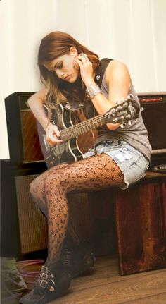 Love Cassadee Pope and those tights! -- I guess since she won The Voice (woo!) we won't hear Hey Monday anymore.