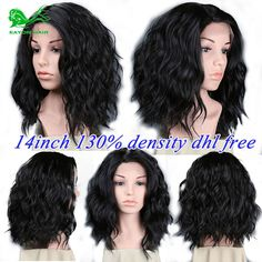 54.71$  Buy now - http://ali18f.worldwells.pw/go.php?t=32696454455 - 7a short human hair wigs with bangs unprocessed brazilian full lace human hair wigs for black women human hair lace front wigs 54.71$