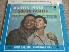Soundtracks & Musicals Excellent (EX) LP Vinyl Records Music Lyrics, My Music, James A Michener, Vynil Records, Mary Martin, Richard Rodgers, South Pacific, Musical Theatre, Soundtrack