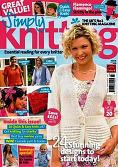 Ravelry: Simply Knitting 69, July 2010