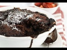 Chocolate Self Saucing Pudding (2008 video) - RECIPE - one pot chef