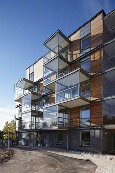 Ruotutorppa Social Housing / Arkkitehdit Hannunkari & Mäkipaja Architects