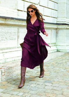 Фиолетовый и коричневый