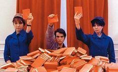 Una película de Jean-Luc Godard, «La chinoise», ha servido de inspiración para una exposición de la artista colombiana Lorena Espitia Torres, que ha titulado con el cinematográfico nombre de «Remake».
