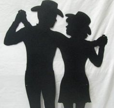 country western couples pattern dance step sheets