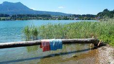 Pikee-Badetuch und Pikee-Liegetuch von verum textilia / gewebt und genäht in Österreich. Strand, Beach Mat, Outdoor Blanket, Hemp, Sun, Weaving, Textiles, Cotton