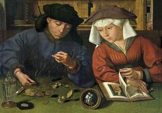 The Moneychanger and his Wife (250 pc. Wentworth Wooden Puzzle)