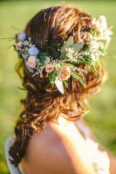 nature flower crown