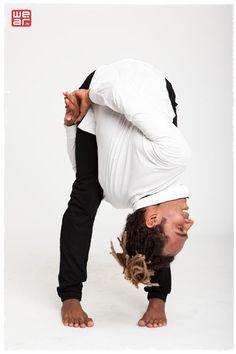 Uttanasna (Forward Fold) with wrap and a twist (Great prep for leg over the shoulder arm balances and Bird of Paradise) Yoga For All, My Yoga, Namaste Yoga, Yoga Meditation, Yoga Sequences, Yoga Poses, Yoga Inspiration, Fitness Inspiration, Yoga Muscles