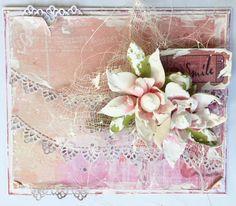 Card by Michelle Frisby Floral Wreath, Wreaths, Cards, Home Decor, Flower Crowns, Door Wreaths, Deco Mesh Wreaths, Maps, Interior Design