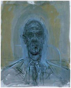 Alberto Giacometti, Figure Painting, Figure Drawing, Painting & Drawing, Giacometti Paintings, Statues, Drawing Heads, Abstract Portrait, Urban Art