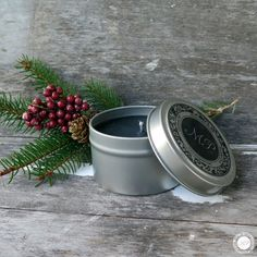 """To start off the 12 Days of Stocking Stuffers, our Lump of Coal is the perfect gift for anyone on Santa's """"naughty list."""" Featured in our Travel Candle and Soy Wax Melts, the scent of Toasted Marshmallow will fill your home with the sweet scent of the Holidays. Available in store and by calling Jericha at 330-527-2054. #monicapotterhome #monicapotter #holidays #12daysofstockingstuffers #giftgiving"""