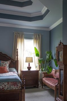 Bedroom ceiling molding   5 Things to Stop Saving & Start Enjoying | Apartment Therapy