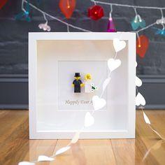 Etsy の Mr & Mrs Lego wedding picture by InkMonkeyArt