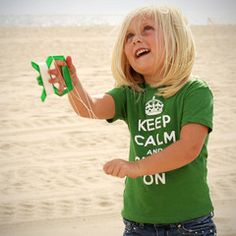 Keep Calm and Chive On Kid's Tee