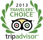 Trip Advisor Travelers' Choice, 2013 Top 25 Destinations in the world!