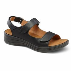 Dr Comfort Lana Womens Comfort Extra Depth Sandal Black 8 MediumWide BD Velcro >>> Read more  at the image link. (This is an Amazon affiliate link and I receive a commission for the sales and I receive a commission for the sales)