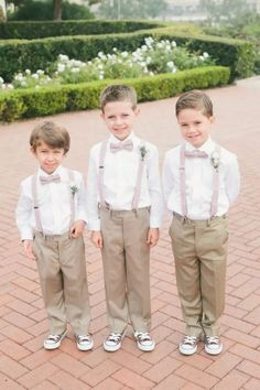ring-bearer Wedding Inspiration - Style Me Pretty Wedding With Kids, Trendy Wedding, Elegant Wedding, Groom And Groomsmen, Here Comes The Bride, California Wedding, Wedding Attire, Wedding Dress, Wedding Bells