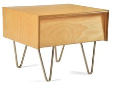 Case Study Bedside Table