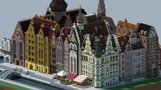 minecraft european house - Google Search