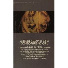 Autobiography Of A Schizophrenic Girl -Marguerite Sechehaye