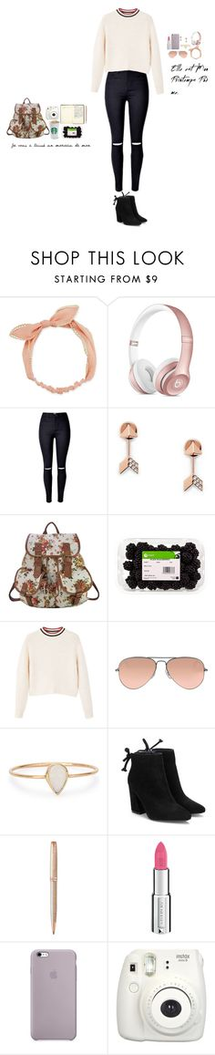 """Starry Nights #9"" by nebulalights ❤ liked on Polyvore featuring Arizona, FOSSIL, French Kiss, MANGO, Ray-Ban, Catbird, Parker, Givenchy and Fujifilm"