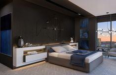 Chambres à coucher de design fascinant et dynamique