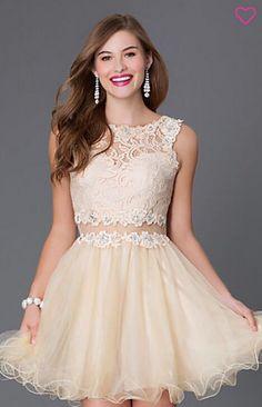 champagne prom dress, detachable prom dress, detachable champagne dama dress 140.00