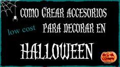 Accesorios para decorar en halloween - DIY