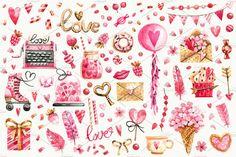 Pink love by Tkach on @creativemarket