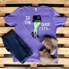 If the Shoe Fits Custom Tee – Southern Mess Boutique
