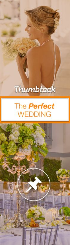 We have everything you need to plan your wedding—even the planner! Get free quotes from the best caterers, florists, officiants, DJs, and more on Thumbtack.