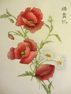 Oriental Poppy Tattoo | desenhos-de-flores-e6_bg.jpg