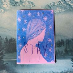 """New zine """"stay"""" is now listed on my bigcartel Maddy Young - @lemaddy"""