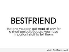 Best friend: the real definition