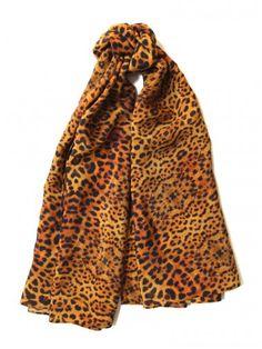Jaguar Silk Square Scarf   Janis Lee New York