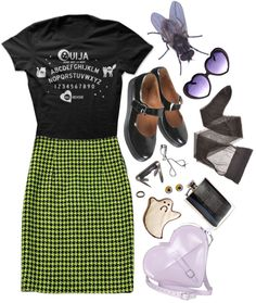 """""""creeped out"""" by msmcpolly ❤ liked on Polyvore"""