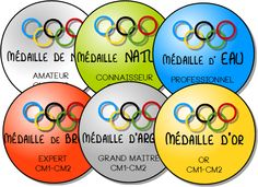 médailles autonomie Back To School, Olympic Games, Learn French, 1st Grades, Management, Organisation, First Day Of School, Entering School, Beginning Of School