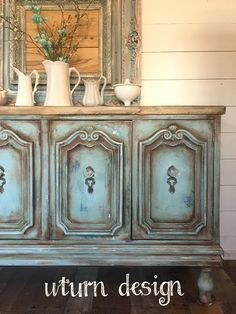 Painted Furniture Dresser :: French layering by uturn design