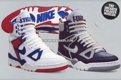 To know more about NIKE Air Force III High - Royal Blue-Red & Light Blue Grey, visit Sumally, a social network that gathers together all the wanted things in the world! Featuring over other NIKE items too! Vintage Sneakers, Retro Sneakers, Retro Shoes, Classic Sneakers, Sporty Outfits Nike, Nike Shoes Outfits, Tenis Basketball, Zapatillas Nike Jordan, Womens Sports Fashion