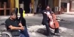 Iraqi Cellist Peacefully Defies Violence By Playing At Site Of Car Bomb